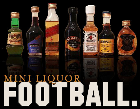 Mini Liquor Football